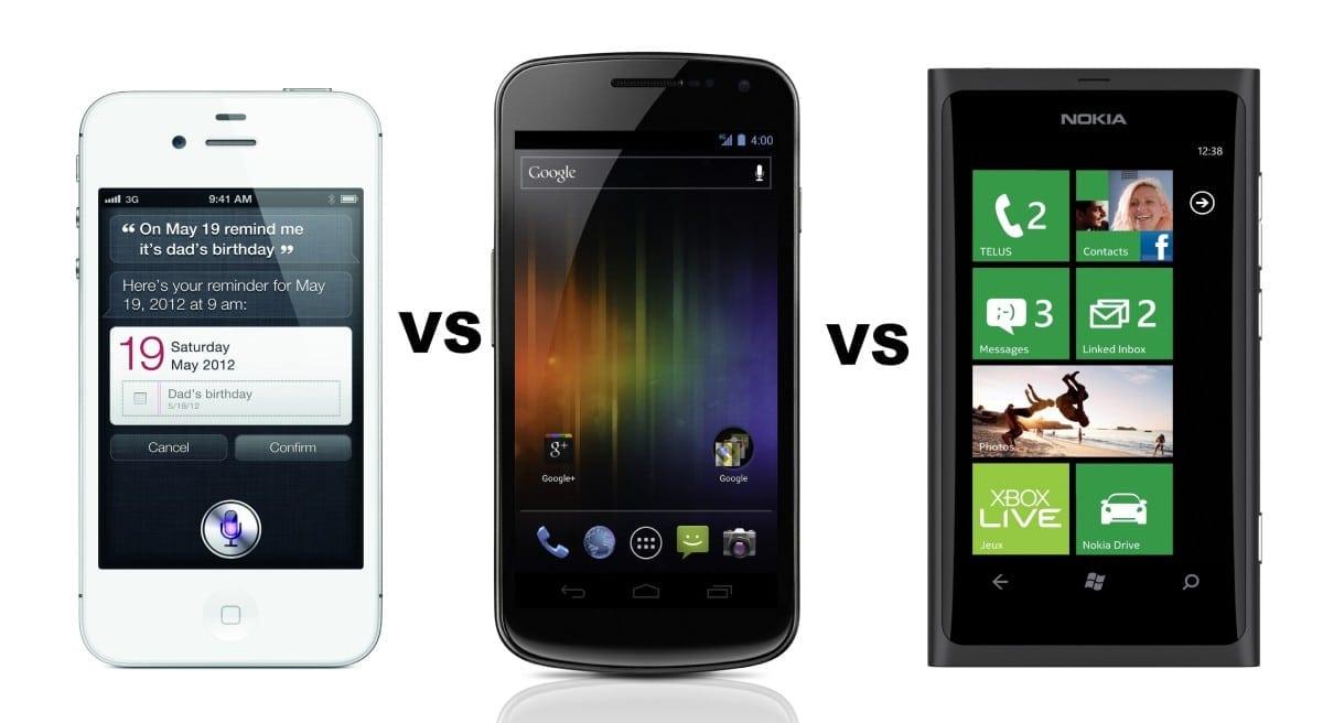 Nokia Lumia vs Samsung Galaxy