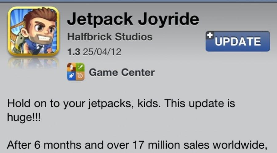 Jetpack Joyride: Bruiază rachete, fii mai agil, cu 15 noi gadgeturi