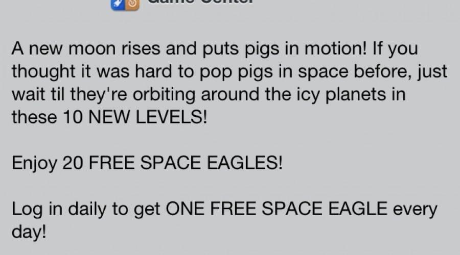 Jocurile Angry Birds Space şi Cut The Rope au fost actualizate