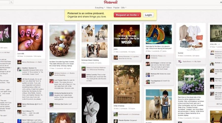 Pinterest e pe locul 3 în topul celor mai accesate reţele de socializare din Statele Unite ale Americii