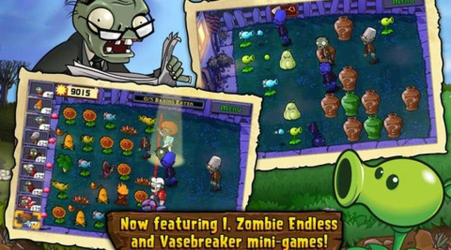Plants vs. Zombies pentru iOS a fost actualizat