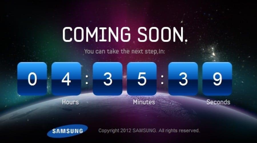 Samsung Galaxy S III: Astăzi aflăm primele detalii de pe site-ul oficial Samsung