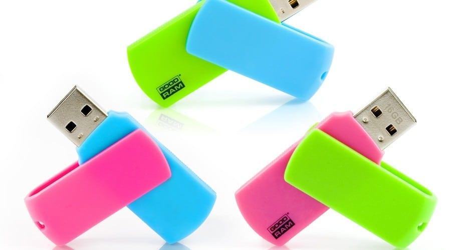 Goodram Colour: Stick-uri de memorie colorate, perfecte pentru vacanţă