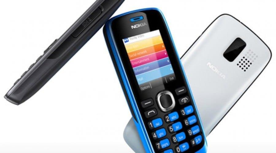 Nokia 110 şi 112: Acces direct la reţele de socializare şi Dual-SIM la un preţ sub 40 euro