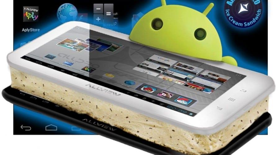 Allview Alldro Speed trece la Android 4.0 Ice Cream Sandwich