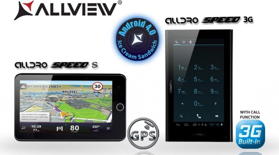 AllDro Speed Satellite şi Speed 3G: Două noi tablete Allview de 7 inchi