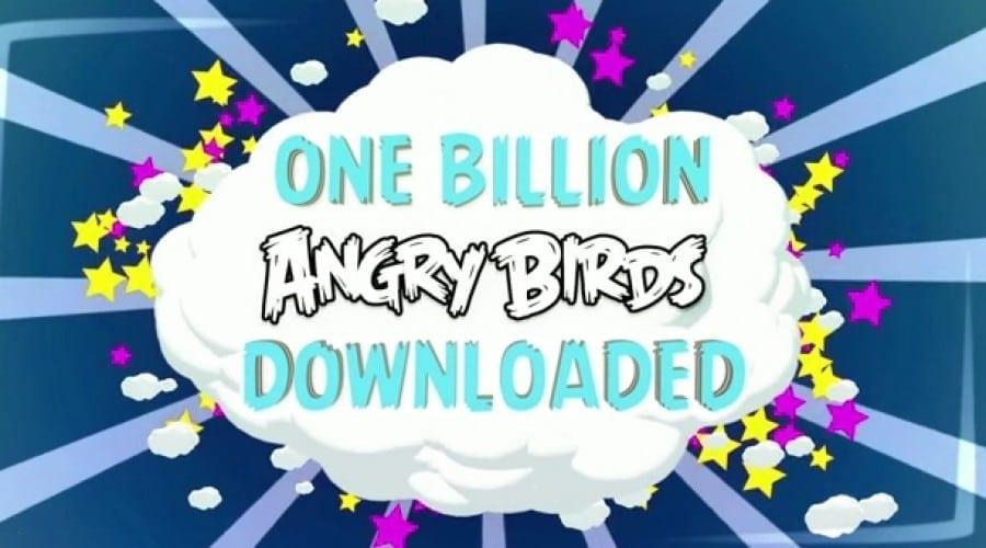 Angry Birds a fost descărcat de peste 1 miliard de ori