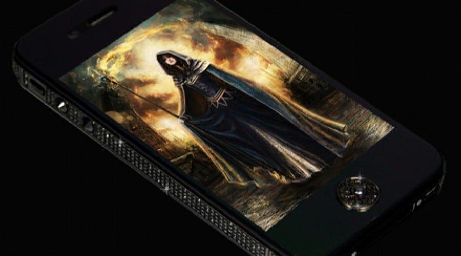 iPhone 4S Black Diamond Edition la 13.995 de lire sterline