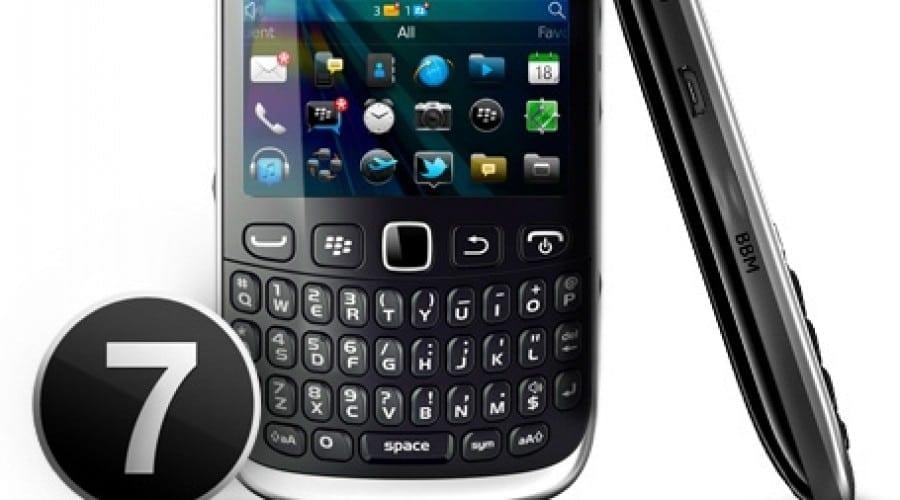BlackBerry Curve 9320: Buton dedicat BBM şi noul BlackBerry 7.1