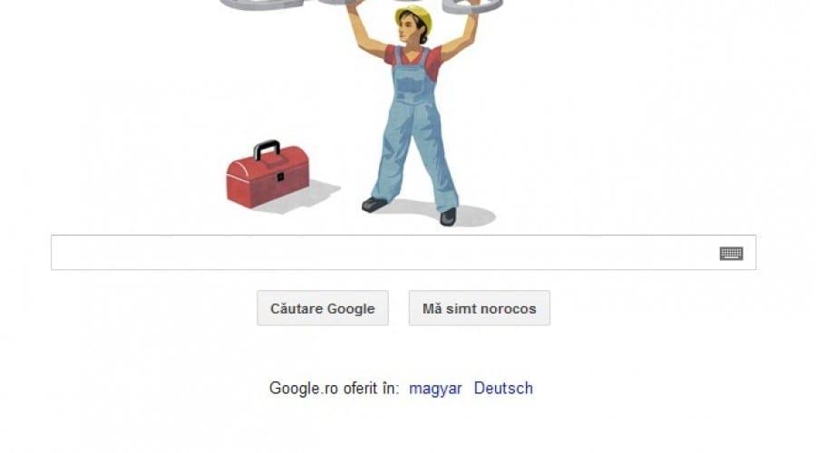 Google sărbătoreşte 1 mai, Ziua Internaţională a Muncii