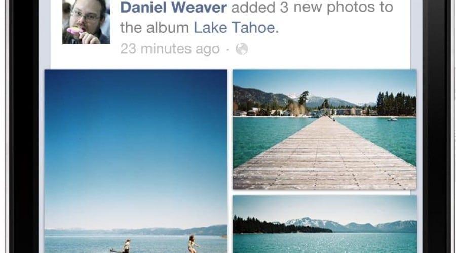 Facebook actualizează aplicaţia pentru smartphone-urile cu iOS si Android