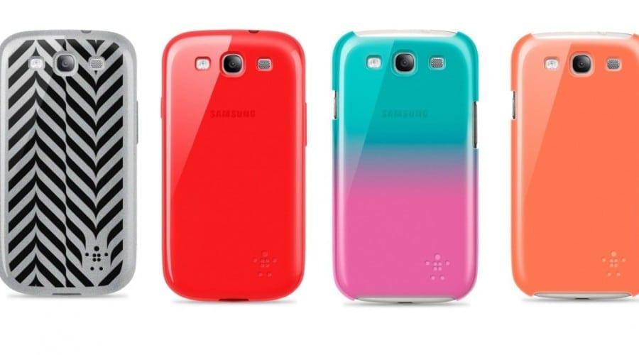 Samsung Galaxy S III, în haine Belkin