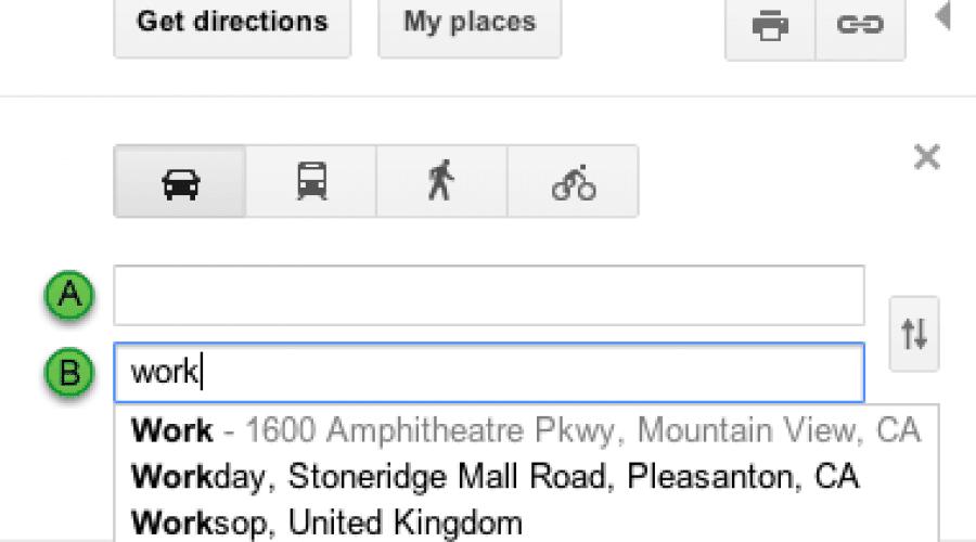 Google Maps oferă acum acces rapid la principalele adrese ale utilizatorului