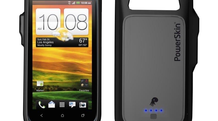 HTC One S într-o carcasă ce include o baterie suplimentară de 1500 mAh