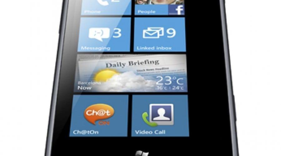 Samsung Omnia M: Smartphone accesibil cu Windows Phone