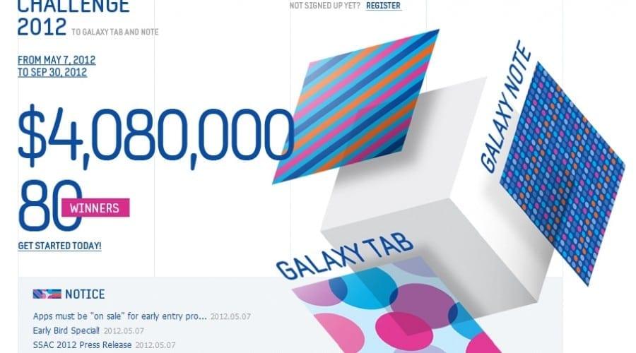 Samsung Smart App Challenge 2012: Competiţie dedicată dezvoltatorilor de aplicaţii pentru Galaxy Note şi Tab