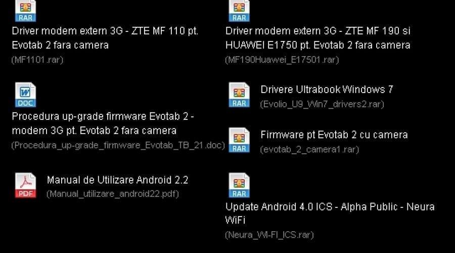 Evolio Neura Wi-Fi şi 3G primesc în sfârşit update la Android 4.0