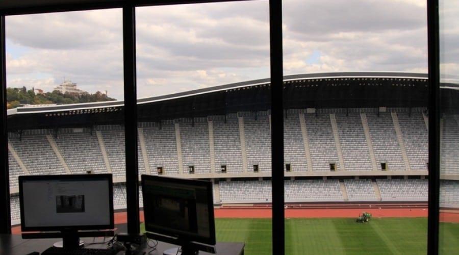 ELKOTech anunta implementarea unui sistem de supraveghere de top pe Cluj Arena