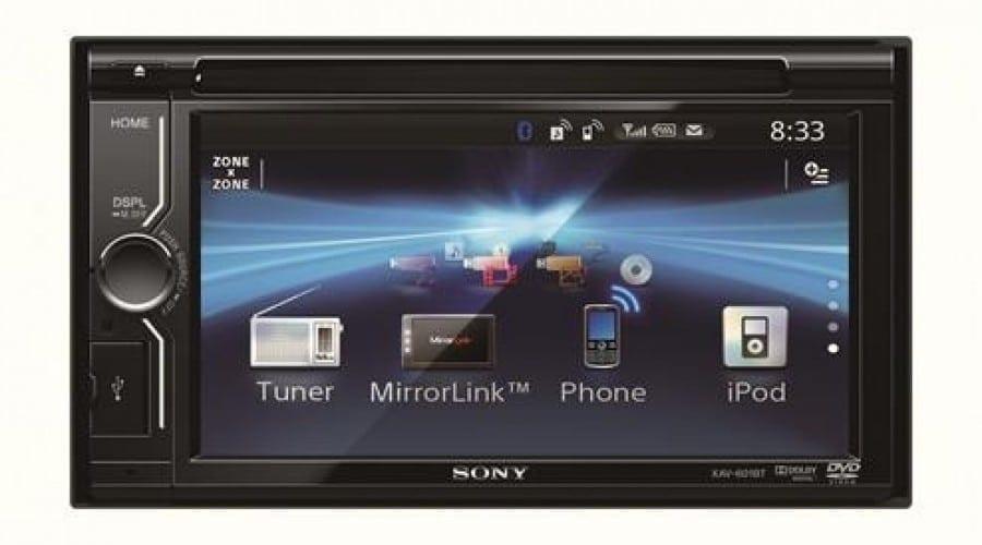 Sony AV auto cu tehnologie MirrorLink