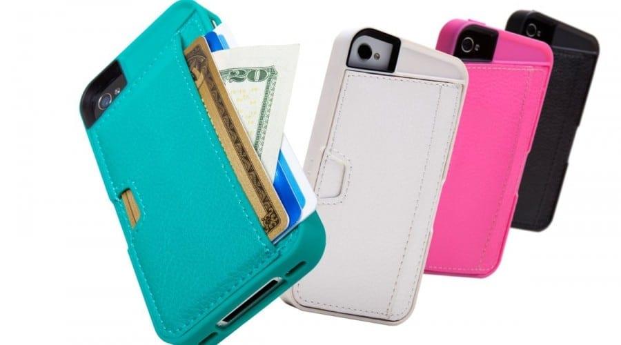 Carcase portofel pentru iPhone 4S