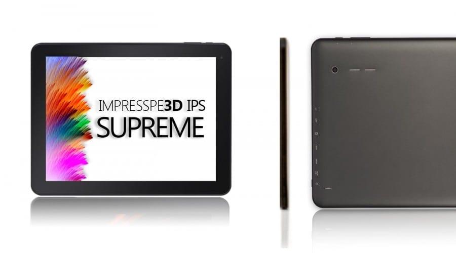 E-Boda Impresspeed IPS Supreme X100: Ecran IPS, Android 4.0, procesor de 1.2 GHz