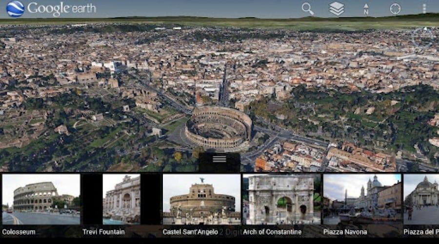 Aplicaţia Google Earth pentru Android a fost actualizată cu hărţi 3D
