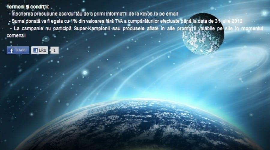 Koyos.ro anunţă un parteneriat cu Asociatia Română pentru Cosmonautică si Aeronautică