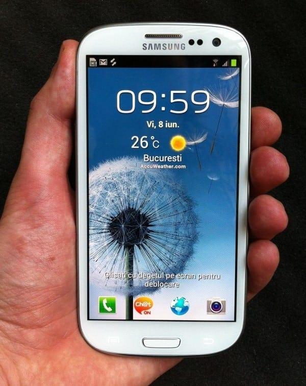 Samsung Galaxy S III: Primul smartphone cu LTE din Rusia