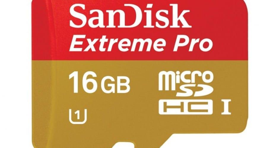 Cele mai rapide carduri de memorie pentru telefoane şi tablete, de la SanDisk