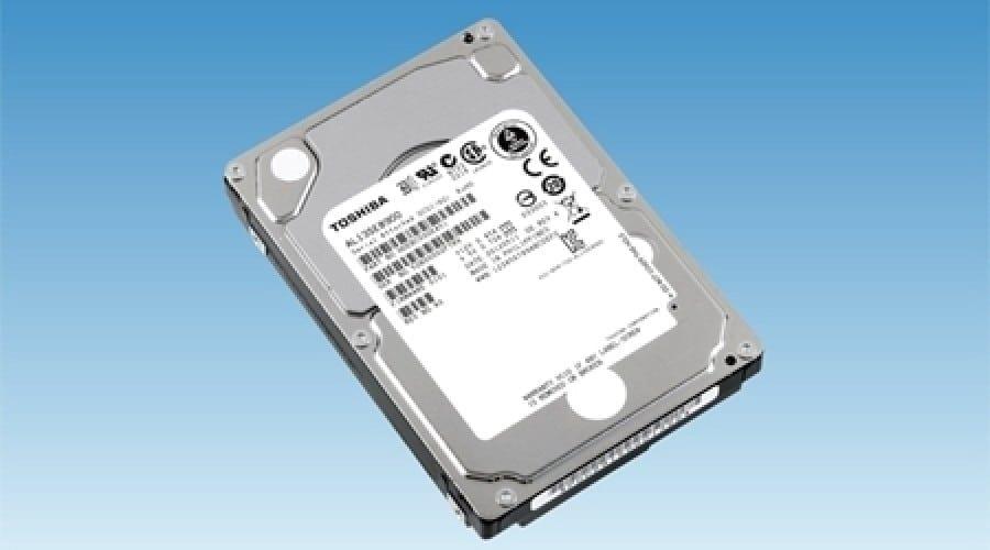 Toshiba Enterprise de 2.5 inchi: Viteză de rotaţie de 10.500 RPM