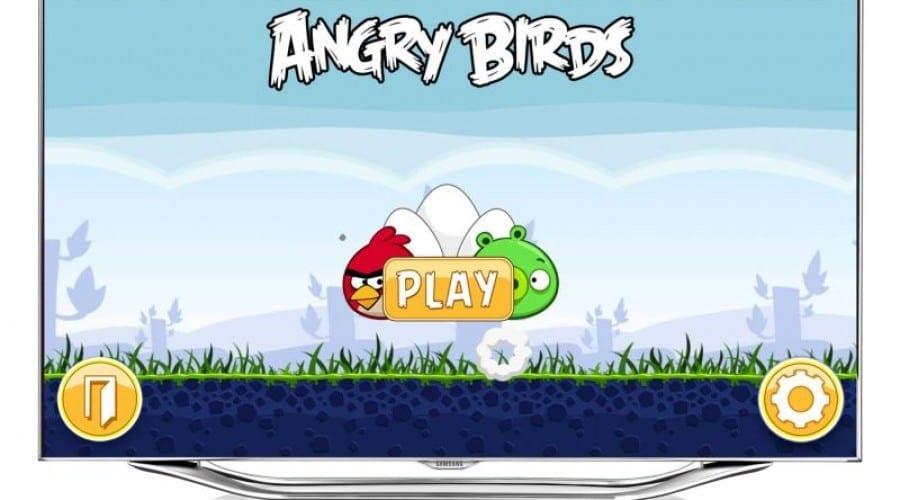 Angry Birds aterizează pe televizoarele Samsung, oferă control prin gesturi