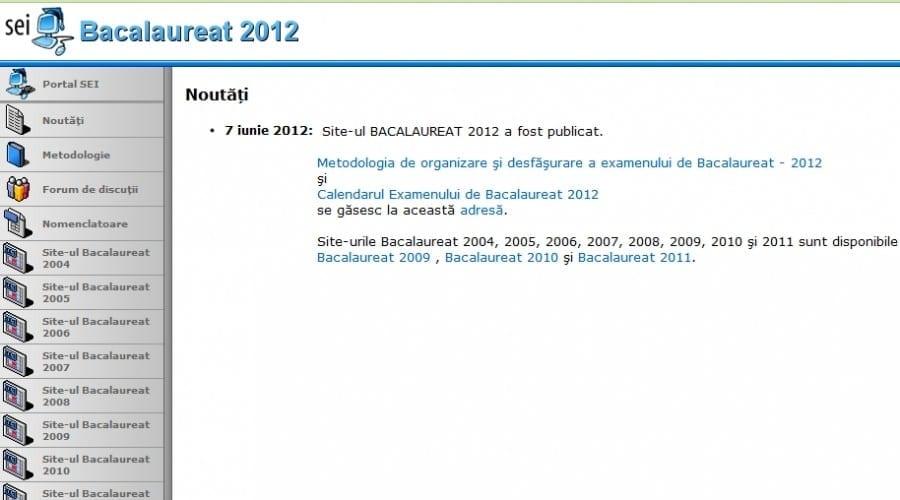 Rezultate BAC 2012: Verifica notele online si la avizierele liceelor