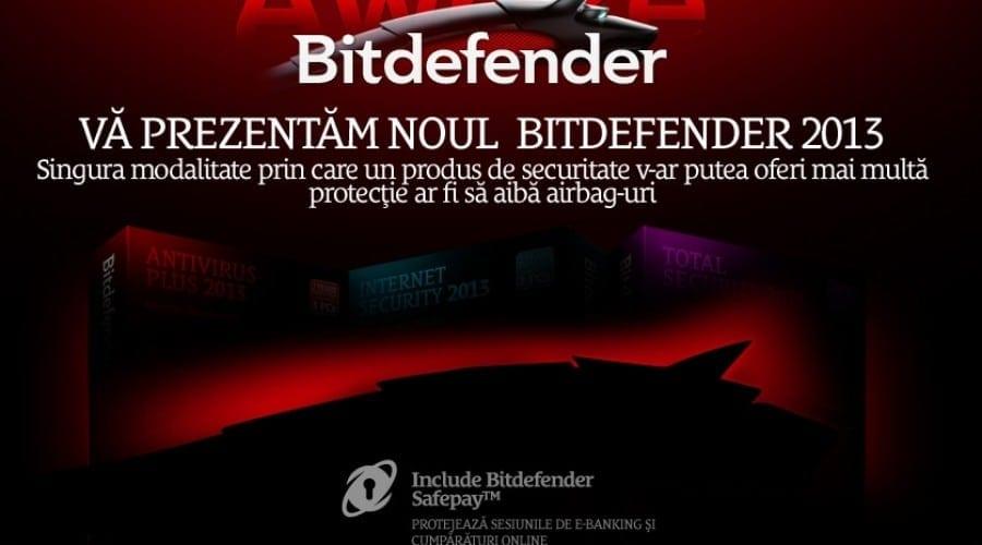 Bitdefender 2013: Noua suită de produse a fost lansată în România