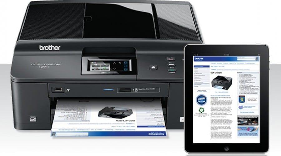 Printează şi scanează direct de pe smartphone, cu multifuncţionalele Brother