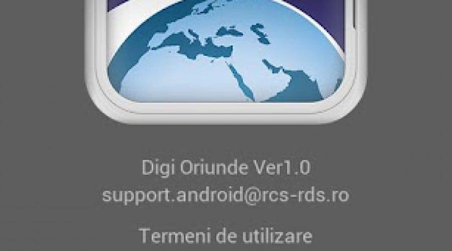RDS & RCS a lansat aplicaţia Digi Oriunde