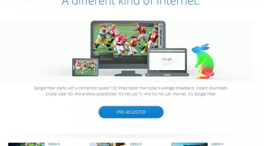 Google Fiber: Internet, televizor şi mediu de stocare, toate într-un singur dispozitiv