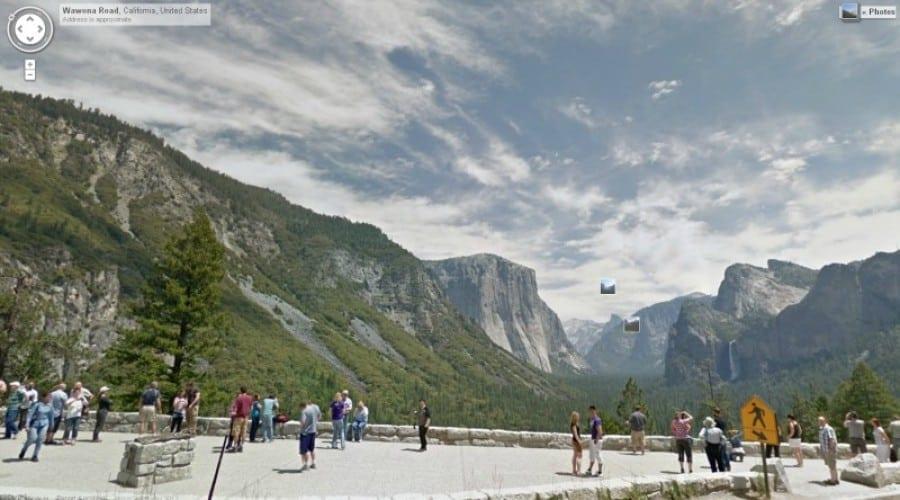 Răcoreşte-te prin Yosemite Park cu Google Street View