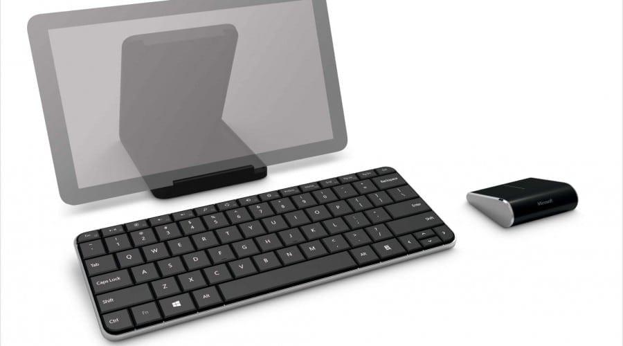 Microsoft Wedge Keyboard şi Mouse: Periferice create special pentru Windows 8