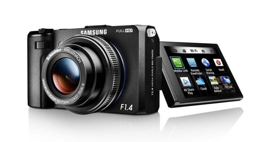Samsung Smart Camera EX2F: Diafragmă de F1.4 şi conectivitate Wi-Fi