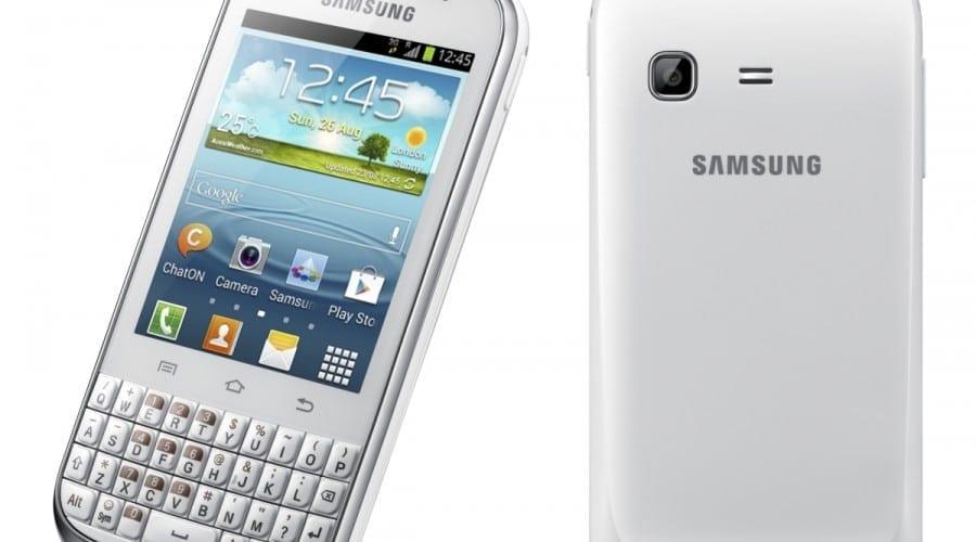 Samsung Galaxy Chat: Tastatură QWERTY, Android 4.0 şi focus pe socializare