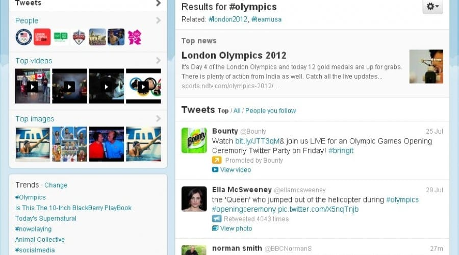 Jocurile Olimpice 2012 atrag mai multe tweet-uri într-o zi decât întreaga ediţie de la Beijing din 2008