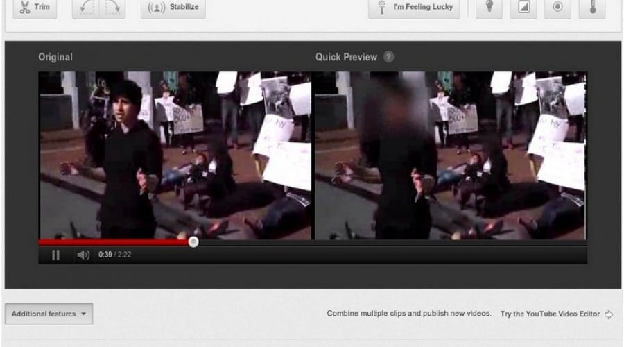 YouTube îţi oferă posibilitatea de a blura feţe în video-urile uploadate