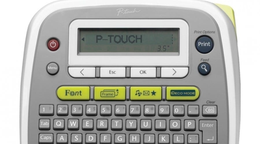 Brother P-Touch D200: Printare rapidă a etichetelor