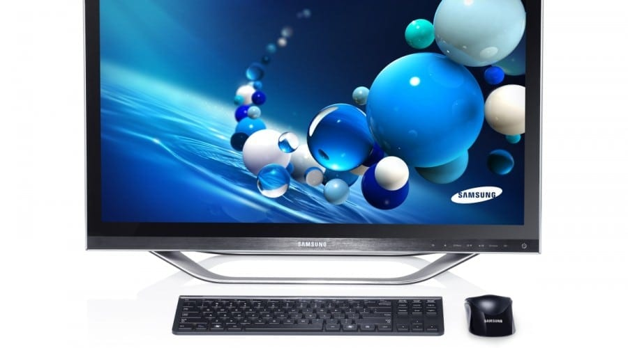 Samsung PC Seria 7: Un All-in-One cu ecran multi-touch şi Windows 8