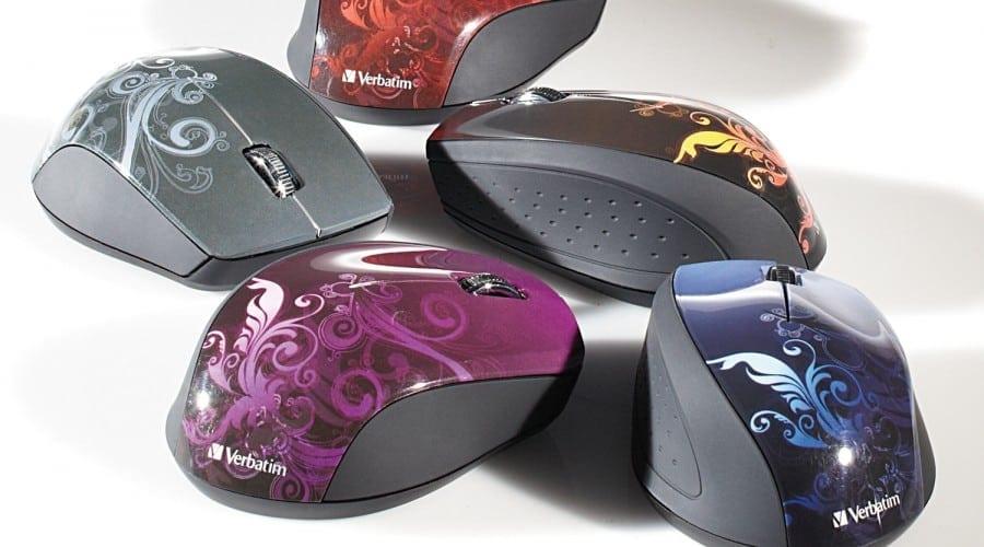 Verbatim Design Mice: Formă ergonomică şi design artistic