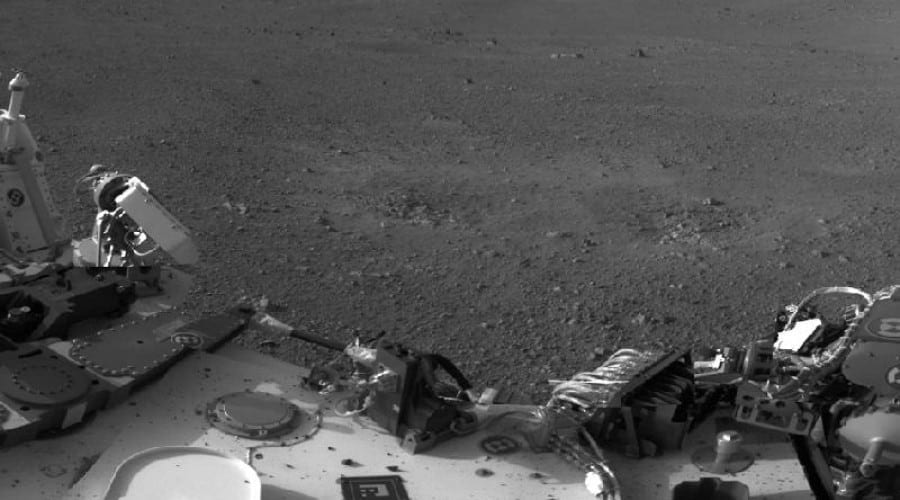 Imaginile de pe Marte, transmise de Curiosity prin UHF