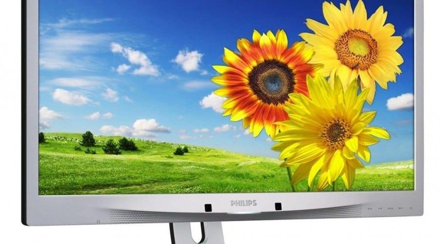 Philips AMVA: Monitor LCD cu webcam şi DisplayPort