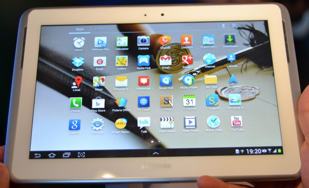 Samsung Galaxy Note 10.1: Update la Android 4.1 Jelly Bean prin Premium Suite
