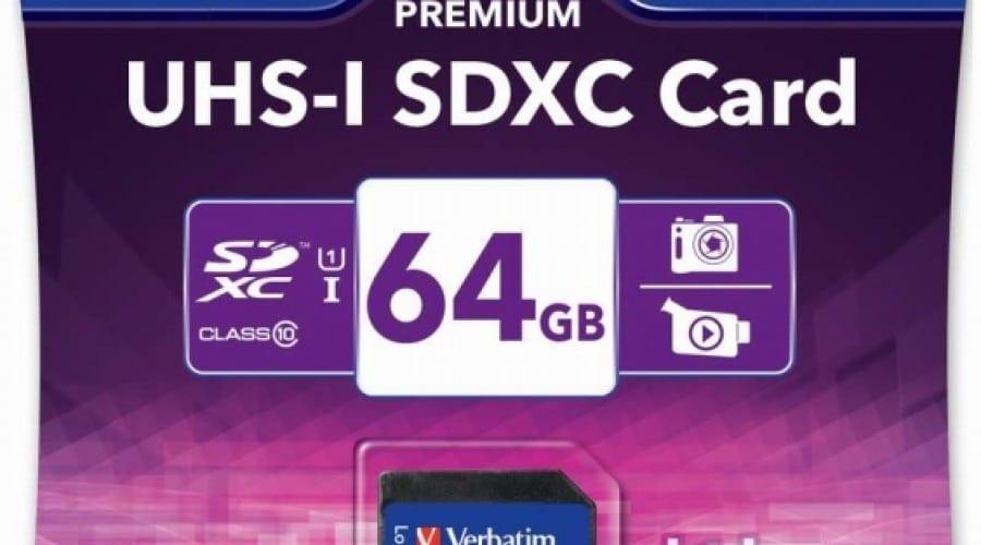 Verbatim UHS-I SDHC şi UHS-I SDXC: Carduri SD cu viteză de citire de până la 90MB pe secundă