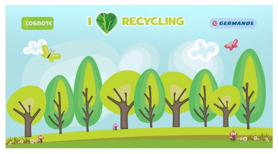 Reciclează şi câştigă cu Cosmote prin programul I Love Recycling